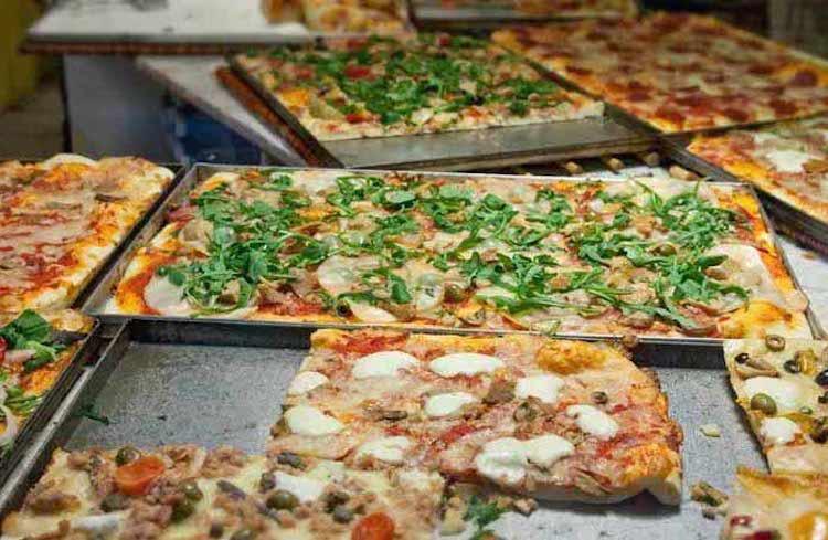 römisch pizza al taglio