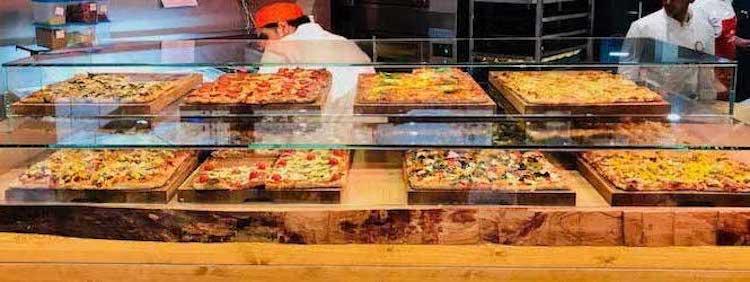 Auswahl an Pizza