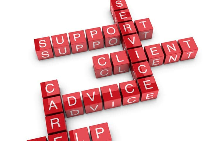 Client-Support-Kreuzworträtsel